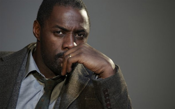 (Pictured: Idris Elba in a scene from 'Luther')