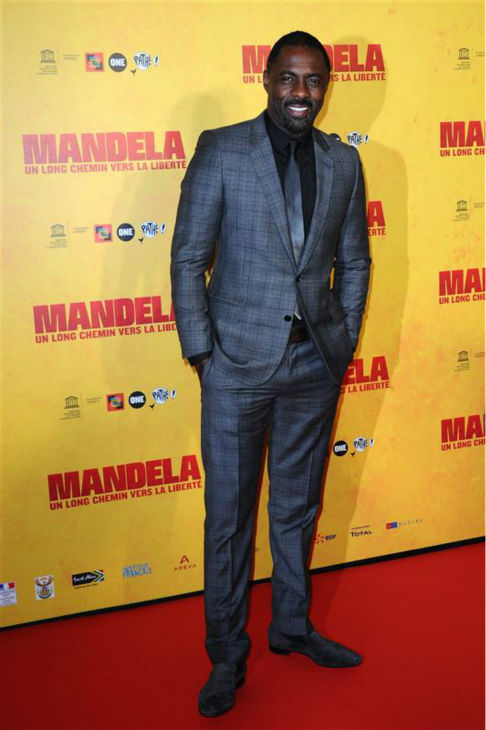 "<div class=""meta image-caption""><div class=""origin-logo origin-image ""><span></span></div><span class=""caption-text"">Idris Elba appears at the premiere of 'Mandela: Long Walk To Freedom' at the UNESCO headquarters in Paris on Dec. 2, 2013. He plays the title role in the movie. (Aurore Marechal / Abaca / Startraksphoto.com)</span></div>"