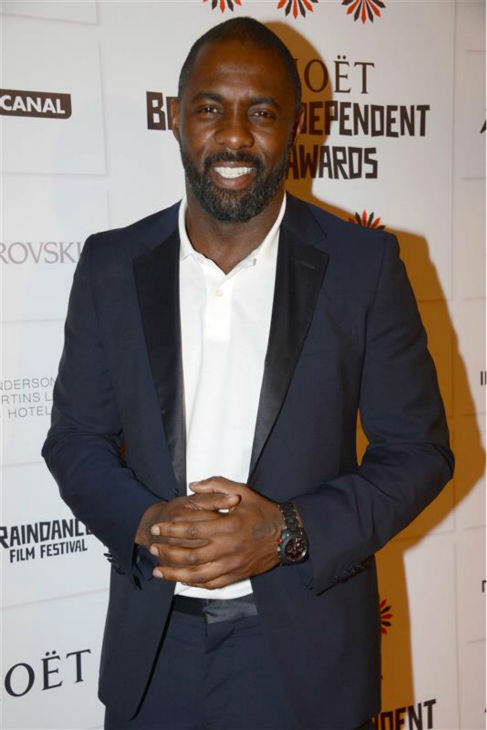 Idris Elba appears at the 2012 Moet British Independent Film Awards in London on Dec. 9, 2012. <span class=meta>(Richard Young &#47; Rex &#47; Startraksphoto.com)</span>