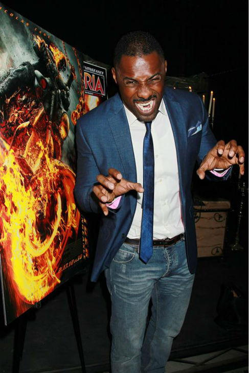 Idris Elba appears at the &#39;Ghost Rider: Spirit of Vengeance&#39; Fangoria Fan Event at &#39;Times Scare&#39; in New York on Feb. 10, 2012. <span class=meta>(Dave Allocca &#47; Startraksphoto.com)</span>