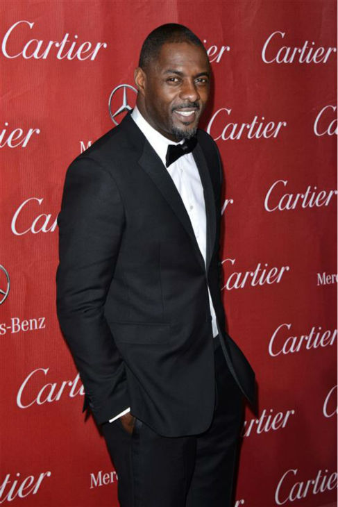 Idris Elba attends the 2014 Palm Springs International Film Festival in Palm Springs, California on Jan. 4, 2014.
