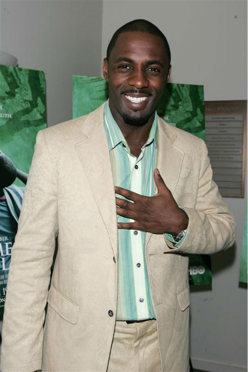 Idris Elba appears at a screening of HBO&#39;s &#39;Sometimes In April&#39; in New York on March 7, 2005. <span class=meta>(Dave Allocca &#47; Startraksphoto.com)</span>