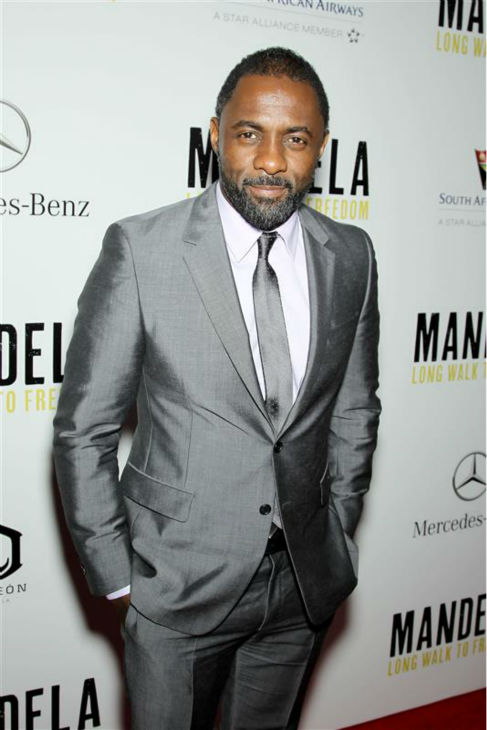 Idris Elba appears at the premiere for &#39;Mandela: Long Walk To Freedom&#39; at Alice Tully Hall at Lincoln Center in New York on Nov. 14, 2013. He plays the title role in the movie. <span class=meta>(Marion Curtis &#47; Startraksphoto.com)</span>