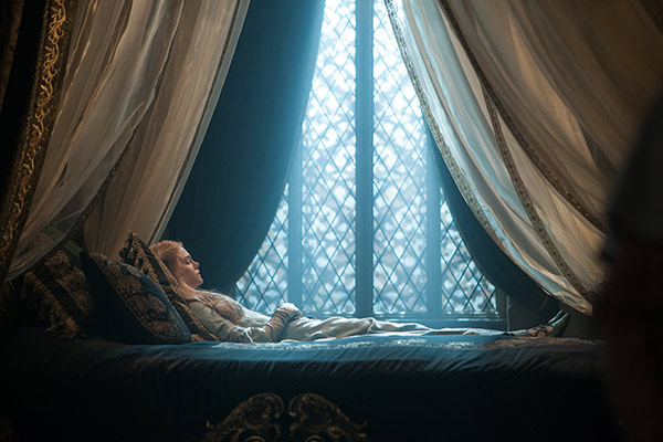 Elle Fanning appears as Princess Aurora, aka Sleeping Beauty, in a scene from the 2014 Disney film &#39;Maleficent.&#39; <span class=meta>(Walt Disney Studios)</span>