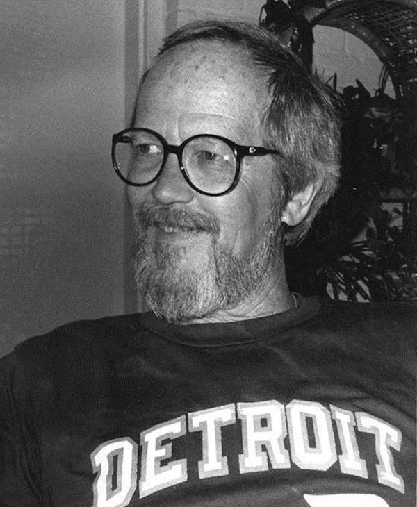 "<div class=""meta ""><span class=""caption-text "">Author Elmore Leonard, whose novels have been adapted into films such as 'Get Shorty' and 'Out of Sight,' died at age 87 on Aug. 20, 2013, weeks after he suffered a stroke.  (Pictured: Elmore Leonard appears in a photo posted on his official Facebook page on Aug. 20, 2013.) (facebook.com/elmoreleonard)</span></div>"