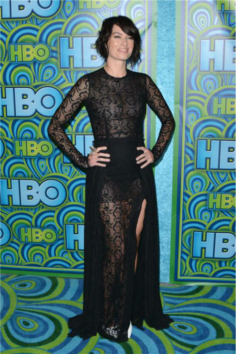 "<div class=""meta ""><span class=""caption-text "">'Game of Thrones' star Lena Headey appears at an Emmy Awards 2013 post-show reception, hosted by HBO, in Los Angeles on Sept. 22, 2013. (Tony DiMaio / Startraksphoto.com)</span></div>"