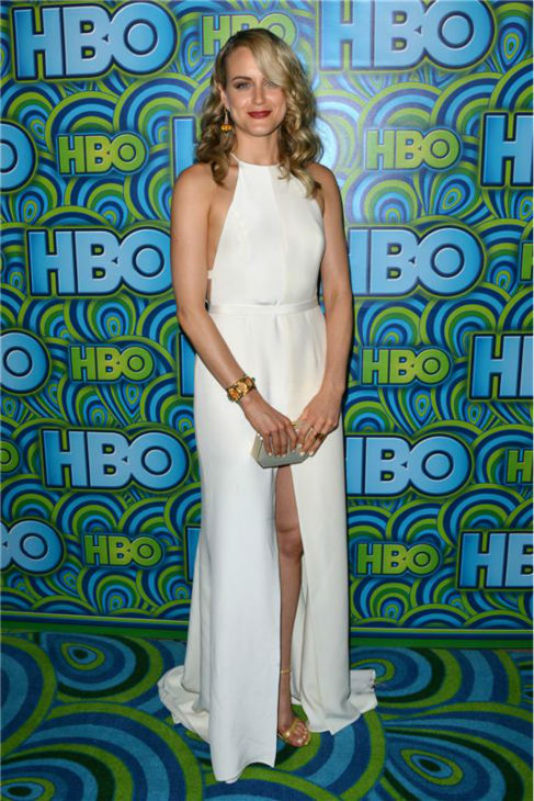 &#39;Orange Is The New Black&#39; star Taylor Schilling appears at an Emmy Awards 2013 post-show reception, hosted by HBO, in Los Angeles on Sept. 22, 2013. <span class=meta>(Tony DiMaio &#47; Startraksphoto.com)</span>