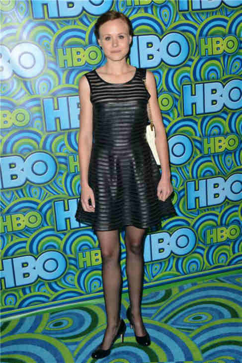 "<div class=""meta ""><span class=""caption-text "">'The Newsroom' star Alison Pill appears at an Emmy Awards 2013 post-show reception, hosted by HBO, in Los Angeles on Sept. 22, 2013. (Tony DiMaio / Startraksphoto.com)</span></div>"