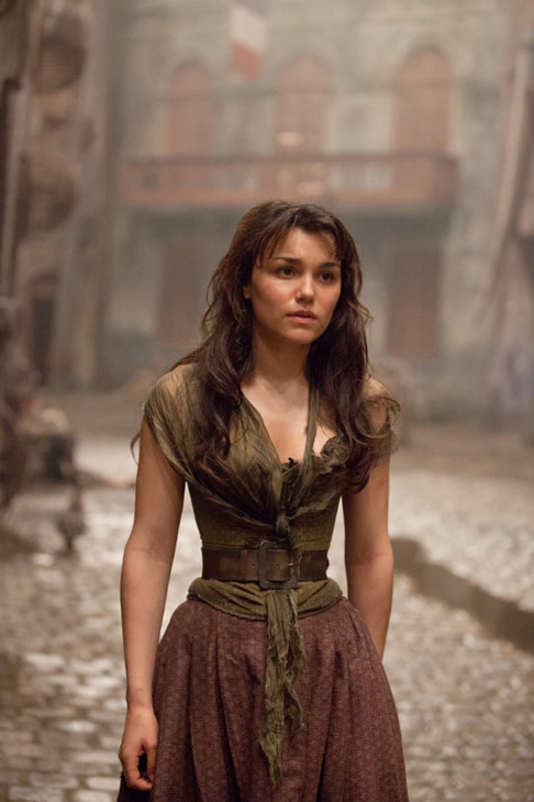 Samantha Barks appears as Eponine in a scene from the 2012