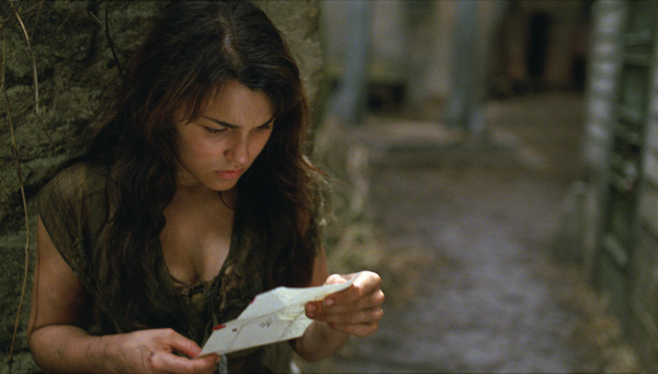 Samantha Barks appears as Eponine in a scene from the 2012 movie 'Les Miserables.'