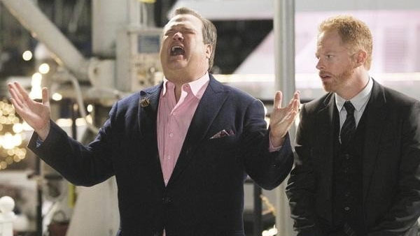 (Pictured: Eric Stonestreet in a scene from the show 'Modern Family.')