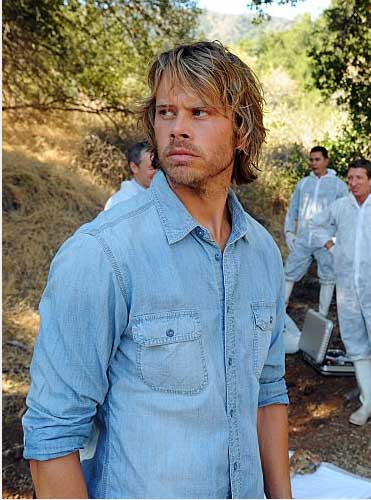 Eric Christian Olsen in a scene from a 2010 episode of 'NCIS: Los Angeles.'