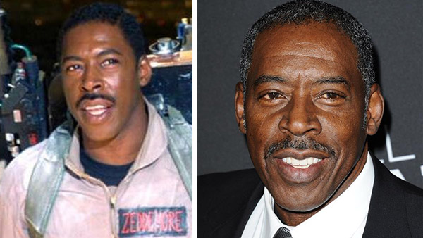 Ernie Hudson appears as Winston Zeddmore in the 1984 film 'Ghostbusters.' /Ernie Hudson appears at the premiere of 'Call Me Crazy: A Five Film' in Los Angeles on April 16, 2013.