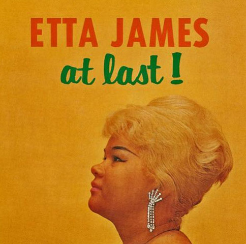 Etta James appears on the cover of her debut...