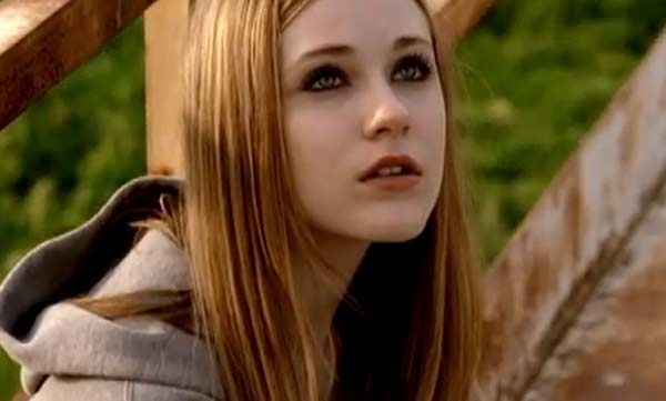 Evan Rachel Wood appears in Greenday&#39;s music video &#39;Wake Me Up When September Ends,&#39; released in 2005. Wood appears as a young woman whose boyfriend enlists in the army, and is ambushed by insurgents. The video emphasizes the pain and heartache that ensues from losing loved ones to war. Wood has since appeared in films such as &#39;Across the Universe&#39; and &#39;The Wrestler,&#39; along with playing in the show &#39;True Blood.&#39; <span class=meta>(WMG &#47; Reprise)</span>