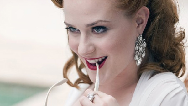 Evan Rachel Wood appears in a scene from the HBO series 'True Blood.'