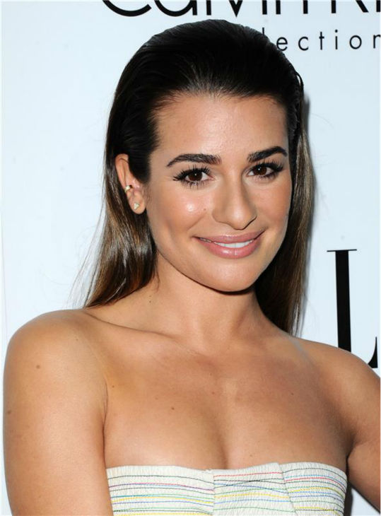 Lea Michele of &#39;Glee&#39; attends ELLE&#39;s 20th Annual Women In Hollywood gala in Beverly Hills, California on Oct. 21, 2013. <span class=meta>(Sara De Boer &#47; Startraksphoto.com)</span>