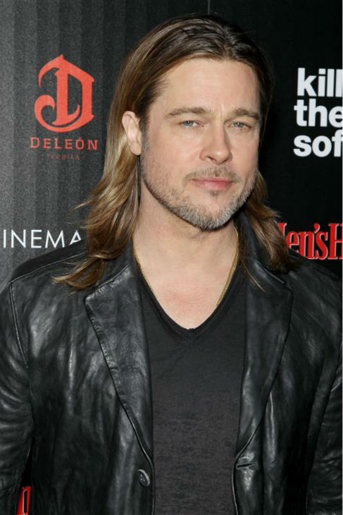 Brad Pitt attends a screening for &#39;Killing Them Softly&#39; at the SVA Theatre in New York on Nov. 26, 2012.  <span class=meta>(Marion Curtis &#47; Startraksphoto.com)</span>