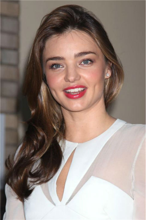 Miranda Kerr arrives to watch husband Orlando Bloom make his Broadway debut in the play 'Romeo and Juliet' on Sept. 19, 2013. He stars with Condola Rashad, daughter of 'Cosby Show' alum Phylicia Rashad.