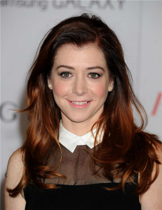 "<div class=""meta image-caption""><div class=""origin-logo origin-image ""><span></span></div><span class=""caption-text"">Alyson Hannigan ('How I Met Your Mother') attends the Hollywood Reporter's 2013 Women In Entertainment Breakfast in Beverly Hills, California on Dec. 11, 2013. (Daniel Robertson / Startraksphoto.com)</span></div>"