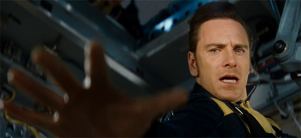 Michael Fassbender appears as Erik Lehnsherr, who would become the villain Magneto, in 'X-Men: First Class.'