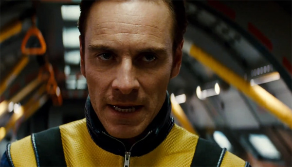 Michael Fassbender appears as Erik Lehnsherr,...