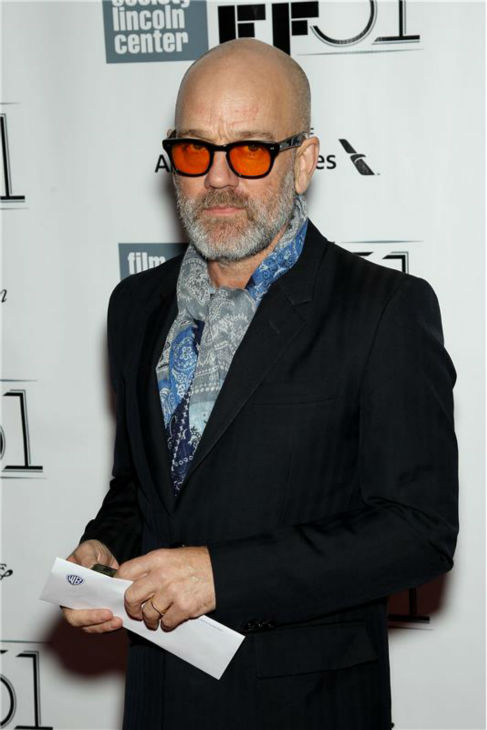 Michael Stipe attends the closing night gala presentation of 'Her. A Spike Jonze Love Story' at the 2013 New York Film Festival on Oct. 12, 2013.