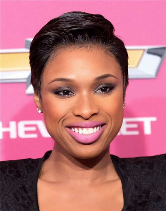 Jennifer Hudson debuts a short hairstyle at BET's 2013 Black Girls Rock event in New York on Oct. 2