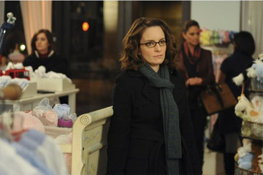 Tina Fey in a scene from the award winning sitcom, '30 Rock.'