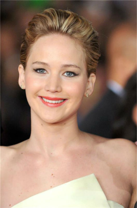 Jennifer Lawrence appears at the premiere of &#39;The Hunger Games: Catching Fire&#39; during the 2013 Rome Film Festival in Rome, Italy on Nov. 14, 2013. <span class=meta>(Morandi &#47; Terenghi &#47; Startraksphoto.com)</span>