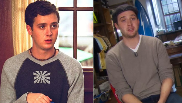 Eddie Kaye Thomas appears in a scene from 'American Pie 2' in 2001. / Eddie Kaye Thomas appears in an HBO video interview for the show 'How To Make It in America.'