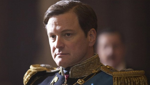 Colin Firth appears in a scene from the 2010 movie 'The King's Speech.'