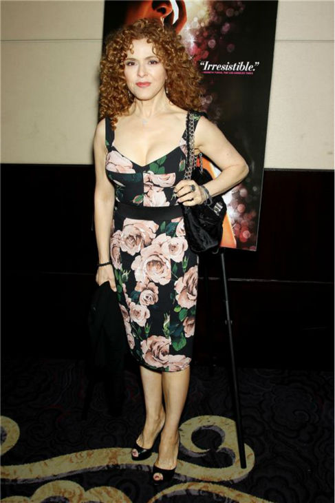 Broadway star Bernadette Peters attends a luncheon celebrating '20 Feet From Stardom,' hosted by RADiUS-TWC and Bette Midler, on July 30, 2013.