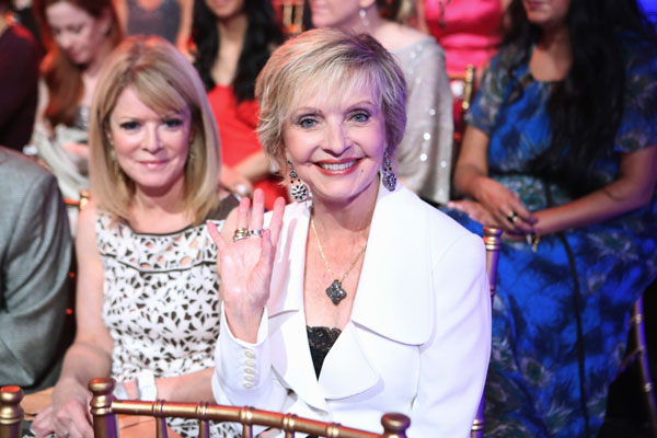 &#39;Brady Bunch&#39; star and &#39;Dancing With The Stars&#39; alum Florence Henderson attends the season premiere of &#39;Dancing With The Stars: All-Stars,&#39; which aired on September 24, 2012.  <span class=meta>(ABC &#47; Adam Taylor)</span>