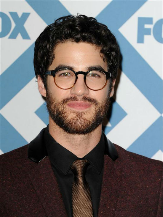 Darren Criss &#40;who plays Blaine on the FOX series &#39;Glee&#39;&#41; appears at the FOX Winter 2014 event&#39;s all-star party at the Langham Hotel in Pasadena, California on Monday, Jan. 13, 2014. <span class=meta>(Daniel Robertson &#47; Startraksphoto.com)</span>