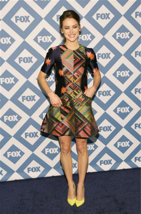 Jessica Stroup &#40;who used to play Silver on the CW show &#39;90210&#39; and now stars in season 2 of the FOX series &#39;The Following&#39;&#41; appears at the FOX Winter 2014 event&#39;s all-star party at the Langham Hotel in Pasadena, California on Monday, Jan. 13, 2014. <span class=meta>(Daniel Robertson &#47; Startraksphoto.com)</span>