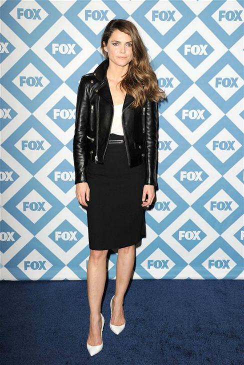 Keri Russell &#40;formerly of &#39;Felicity,&#39; who stars in the FX series &#39;The Americans&#39;&#41; appears at the FOX Winter 2014 event&#39;s all-star party at the Langham Hotel in Pasadena, California on Monday, Jan. 13, 2014. <span class=meta>(Daniel Robertson &#47; Startraksphoto.com)</span>