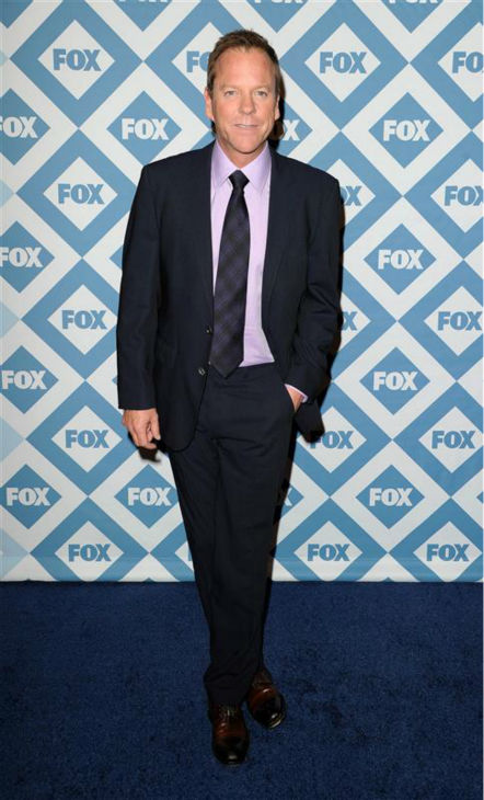 "<div class=""meta ""><span class=""caption-text "">Kiefer Sutherland (who reprises his role as Jack Bauer in the revived, new and limited series '24: Live Another Day') appears at the FOX Winter 2014 event's all-star party at the Langham Hotel in Pasadena, California on Monday, Jan. 13, 2014. The new series premieres on May 5. (Daniel Robertson / Startraksphoto.com)</span></div>"