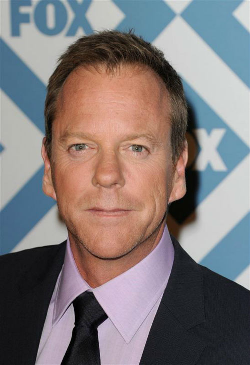 Kiefer Sutherland &#40;who reprises his role as Jack Bauer in the revived, new and limited series &#39;24: Live Another Day&#39;&#41; appears at the FOX Winter 2014 event&#39;s all-star party at the Langham Hotel in Pasadena, California on Monday, Jan. 13, 2014. <span class=meta>(Daniel Robertson &#47; Startraksphoto.com)</span>