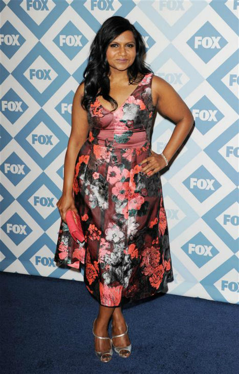 Mindy Kaling &#40;star of the FOX series &#39;The Mindy Project&#39;&#41; appears at the FOX Winter 2014 event&#39;s all-star party at the Langham Hotel in Pasadena, California on Monday, Jan. 13, 2014. <span class=meta>(Daniel Robertson &#47; Startraksphoto.com)</span>