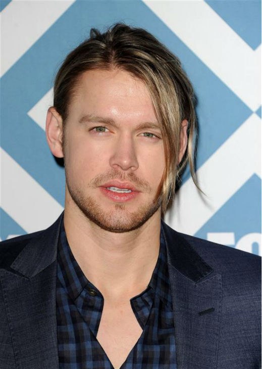 "<div class=""meta image-caption""><div class=""origin-logo origin-image ""><span></span></div><span class=""caption-text"">Chord Overstreet (who plays Sam on the FOX series 'Glee') appears at the FOX Winter 2014 event's all-star party at the Langham Hotel in Pasadena, California on Monday, Jan. 13, 2014. (Daniel Robertson / Startraksphoto.com)</span></div>"