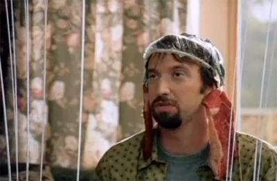 &#39;Freddy Got Fingered&#39; received the Razzie for Worst Picture of 2001. The movie stars Tom Green as an immature adult and unemployed cartoonist who spreads rumors that his father is sexually abusing his younger brother in a bid to stop his parents from forcing him to move out of their house. <span class=meta>(Regency Enterprises)</span>