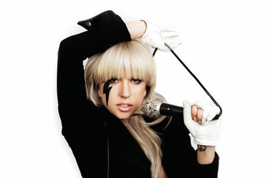 Lady Gaga in a promotional still on her personal Facebook.
