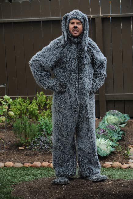 Jason Gann as Wilfred in a scene from the 2011 FX series 'Wilfred.'
