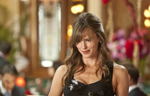 "<div class=""meta ""><span class=""caption-text "">Before becoming a famous actress, Jennifer Garner was a hostess at Isabella's Restaurant on New York's Upper West Side. Garner also played saxophone in her high school marching band. She told Teen People, 'I think it was a source of ridicule, but it didn't bother me.'  (New Line Cinema)</span></div>"