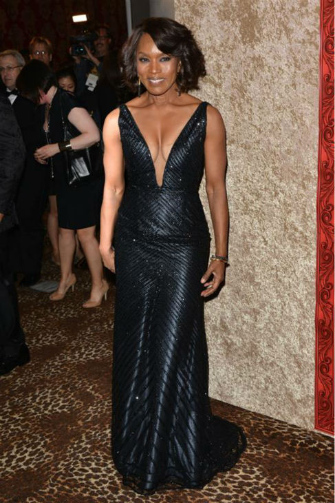 Angela Bassett &#40;FX&#39;s &#39;American Horror Story: Coven&#39;&#41; appears at the Weinstein Company&#39;s and Netflix&#39;s 2014 Golden Globe Awards after party at the Beverly Hilton hotel in Beverly Hills, California on Jan. 12, 2014. <span class=meta>(Kyle Rover &#47; Startraksphoto.com)</span>
