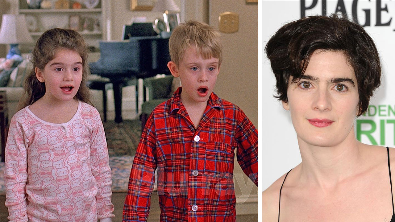 Gaby Hoffmann and Macaulay Culkin appear in a scene from the 1989 movie 'Uncle Buck.' / Gaby Hoffmann appears at the 2014 Film Independent Spirit Awards in Santa Monica, California on March 1, 2014.
