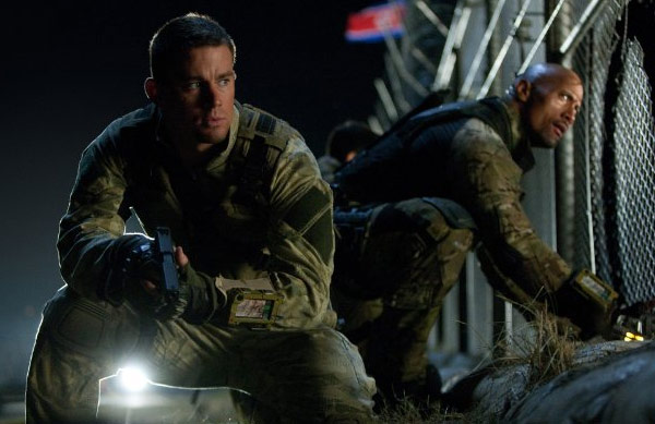 "<div class=""meta ""><span class=""caption-text "">Channing Tatum appears in a photo from the 2009 film 'G.I. Joe: The Rise of Cobra.' (Paramount Pictures / Spyglass Entertainment / Hasbro)</span></div>"