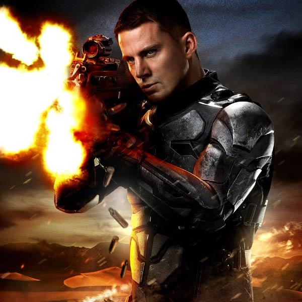 Channing Tatum appears in a promotional photo for the 2009 film &#39;G.I. Joe: The Rise of Cobra.&#39; <span class=meta>(Paramount Pictures &#47; Spyglass Entertainment &#47; Hasbro)</span>