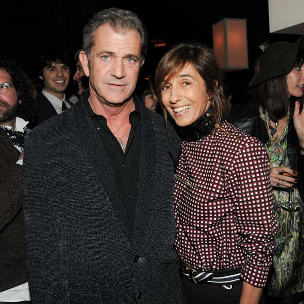 Mel Gibson and Marni's Founder and Creative...